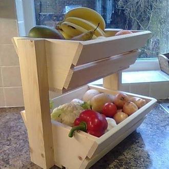 """Лоток для фруктов и овощей """"Редиш"""" бланже"""
