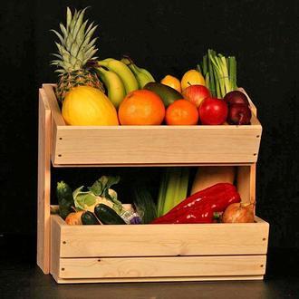 """Лоток для овощей и фруктов """"Свид"""" ваниль"""