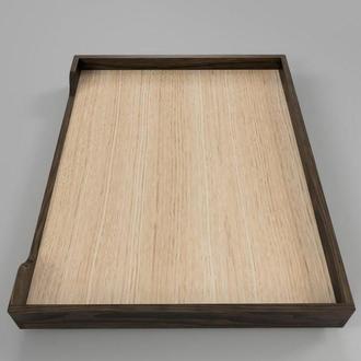 """Лежак дерев'яний для собаки """"Гротус 70х50"""" капучіно"""