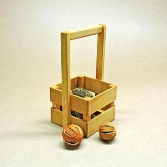 "Подарочная корзинка ""Шервуд 18х18"" карри"