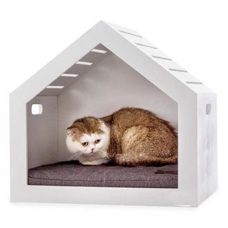 "Домик для кошки ""Дитта"" зефир"
