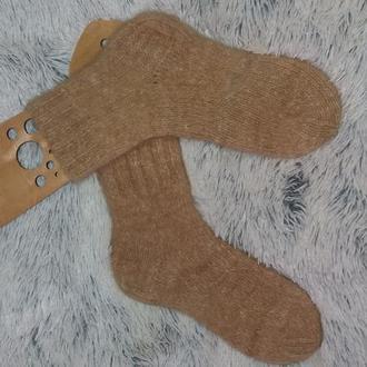 носки вязанные из собачьей шерсти