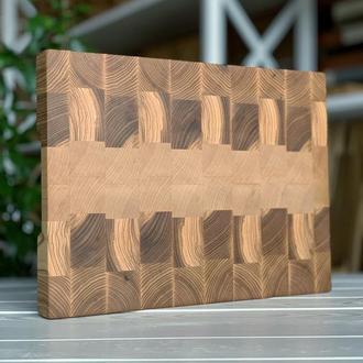 Торцева кухонна дошка  Naturwood ( 400 x 300 x 40 мм)