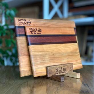 Набор деревянных кухонных досок