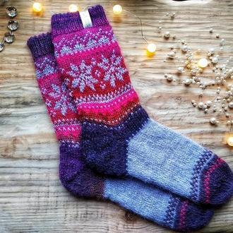 Вовняні шкарпетки з персоналізацією