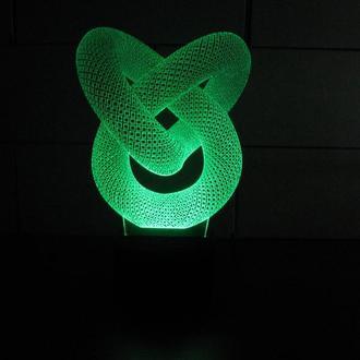 """3d акриловый светильник-ночник """"Фигурная иллюзия"""" необычный подарок сувенир декор игрушка"""
