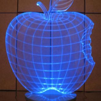 """3d акриловый светильник-ночник """"Яблоко"""", оригинальный подарок"""