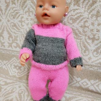 Одежда для куклы, пупса. Костюм.