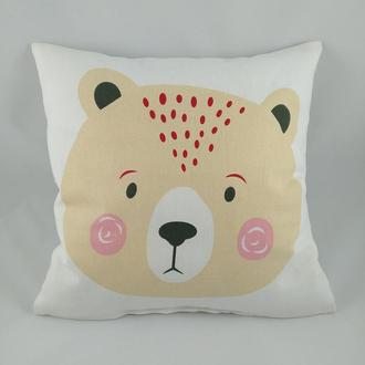 """Подушка детская """"Медведь"""""""