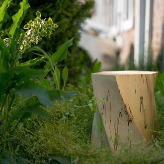 деревянный пенек/табурет/тумба/предмет интерьера