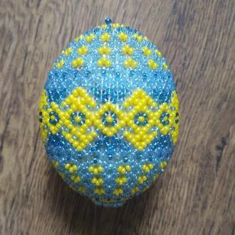 Яйцо бисером