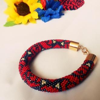 Очень красивые браслеты из бисера