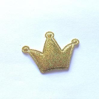 Патчи для рукоделия: корона.