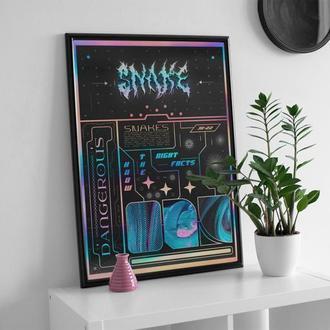 Постер — SNAKE