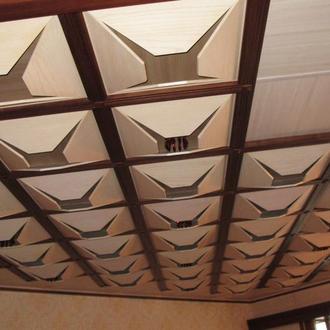 потолок ясеневый