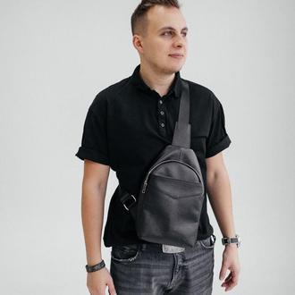 Мужская сумка-мессенджер, кожаная сумка через плечо