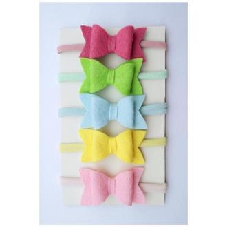 бантик - повязка на голову для малышек