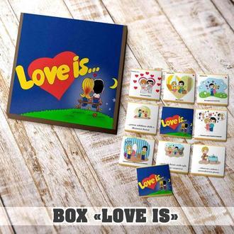 Шоколадный набор «Love-is.. »