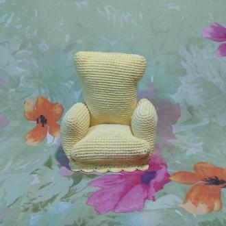 Кукольное кресло, игрушечный трон