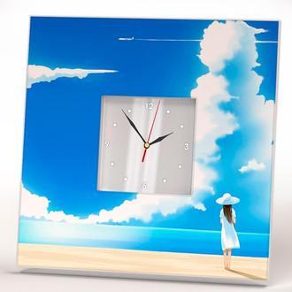 """Настенные часы в стиле Аниме, Манга """"Ожидание"""""""
