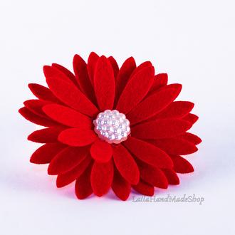 Детская повязка с цветком