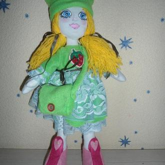 Кукла Большеножка-клубничка