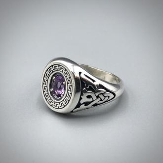 Перстень Рисіч з аметистом