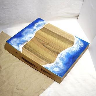 Разделочная доска из дерева,Деревянная доска с гравировкой на подарок