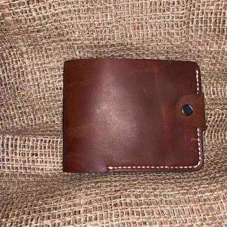Шкіряний гаманець ручної роботи