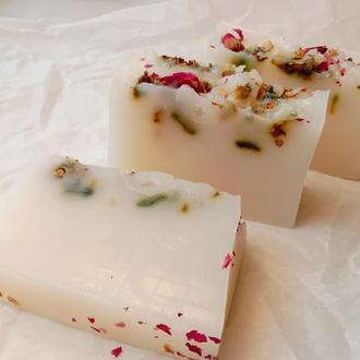 Брусковое мыло  с розами