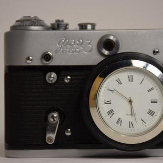 Часы из фотоаппарата