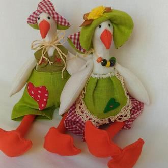 "Кукла Тильда ""Два веселых Гуся"""