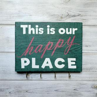Ключница «This Is Our Happy Place»
