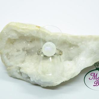 Кольцо с лунным камнем. Кольцо с адуляром