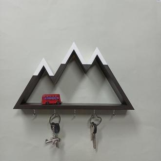 Ключница-полочка с разными вершинами, с магнитами