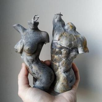 Скульптурні свічки Закохані