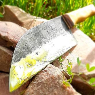 Кухоний ніж, кований.