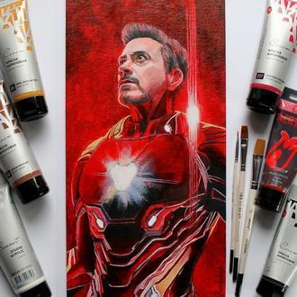 """Картина акрилом """"Iron Man"""""""