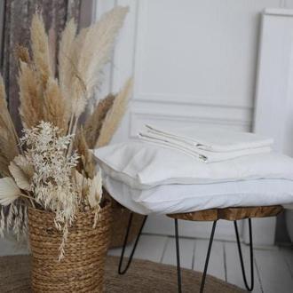 Крафтовое постельное белье из 100% льна Opal