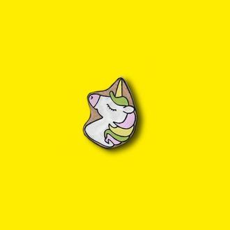Значок из дерева « Unicorn » 🦄