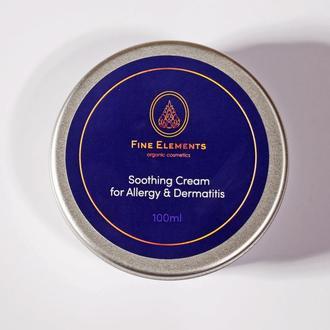 Успокаивающий крем для тела при аллергии и дерматите.100мл