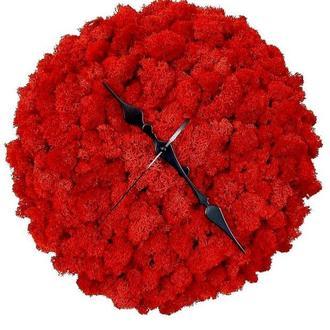Часы Сабилизированный мох Reindeer Moss b/055/02/600/30 красный