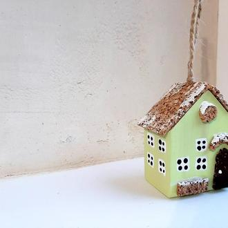 Новогодняя игрушка на елку Reindeer Moss w-001-09-500-4x6 зеленый
