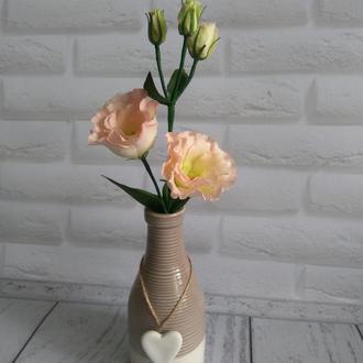 Цветы из фоамирана интерьерные эустома
