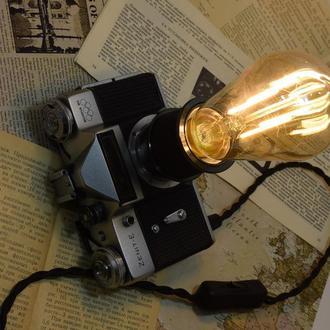 Настольный светильник ручной работы