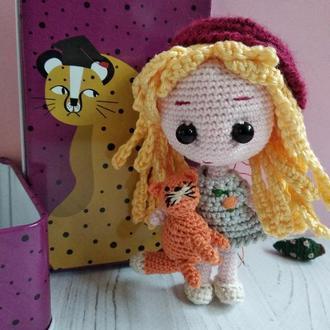 Лялечка, амігурумі, pocket doll