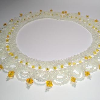 Свадебные ожерелья