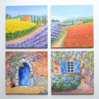 Комплект картин у стилі Прованс, (2)