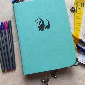 Блокнот в точку Панда,  Bullet journal