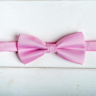 Галстук-бабочка для жениха и\или свидетелей розовая